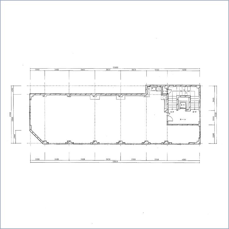 第3電波ビル 平面図